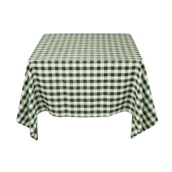 Tablecloth Square Checkered 90 Inch Hot Pink By Broward Linens
