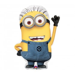 By Broward Balloons Despicable Me Minion Mini Shape 14 Inch Balloon