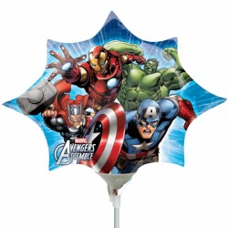 By Broward Balloons Avengers Mini Shape 14 Inch Balloon