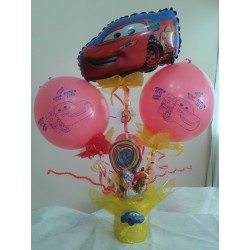 By Broward Balloons Disney Cars Balloon and Candy Container