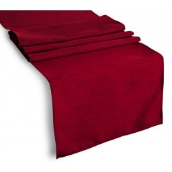 Tablecloth Runner Polyester 12 X 72 Inch Brown By Broward Linens