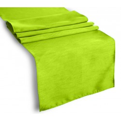 Tablecloth Runner Polyester 12 X 72 Inch Apple Green By Broward Linens