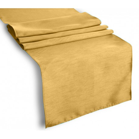 Tablecloth Runner Polyester 12 X 108 Inch Light Yellow Broward Linens