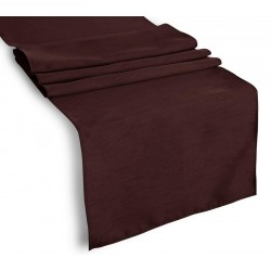 Tablecloth Runner Polyester 13 X 72 Inch Black Broward Linens