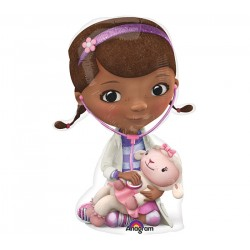 By Broward Balloons Doc McStuffins Mini Shape 14 Inch Balloon (Qty2)