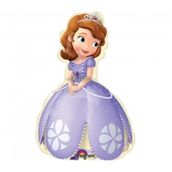 By Broward Balloons Sofia The First Mini Shape 14 Inch Balloon (Qty2)