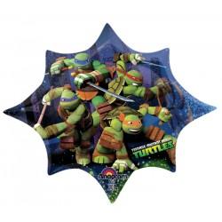 By Broward Balloons Teenage Mutant Ninja Turtles Mini Shape 14 Inch Balloon (Qty2)