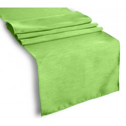 Tablecloth Runner Polyester 13 X 108 Inch Apple Green Broward Linens