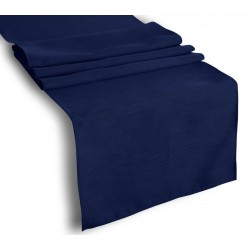 Tablecloth Runner Polyester 14 X 108 Inch Navy Blue Broward Linens