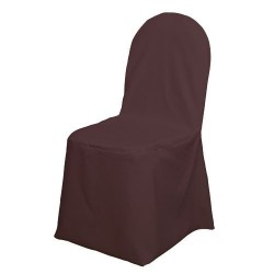 Chair Cover Sansonite Polyester Brown By Broward Linens