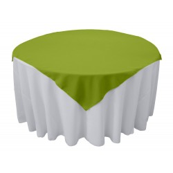 Overlay Square Polyester Apple Green 90 Inch By Broward Linens
