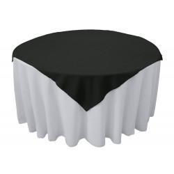 Overlay Square Polyester Beige 72 Inch By Broward Linens