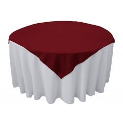Overlay Square Polyester Brown 72 Inch By Broward Linens