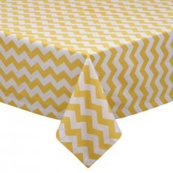 Tablecloth Chevron Square 45 Inch Royal Blue By Broward Linens