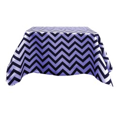 Tablecloth Chevron Square 36 Inch Hot Pink By Broward Linens