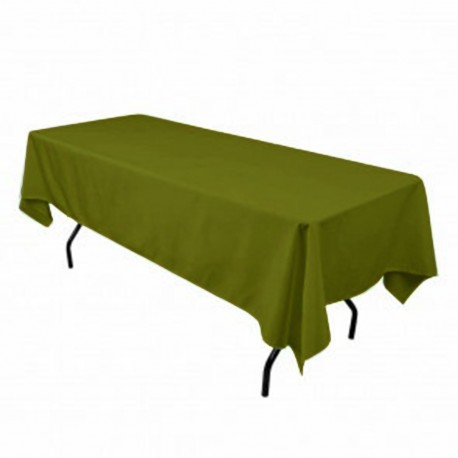 Tablecloth Rectangular 60x90 Inch Avocado By Broward Linens