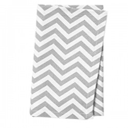 Napkins Chevron 15 X 15 Inch (6 Units) Black By Broward Linens