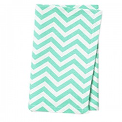 Napkins Chevron 15 X 15 Inch (6 Units) Royal Blue By Broward Linens