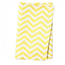 Napkins Chevron 15 X 15 Inch (6 Units) Turquoise By Broward Linens