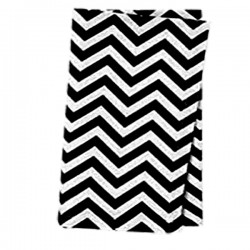 Napkins Chevron 17 X 17 Inch (6 Units) Apple Green By Broward Linens