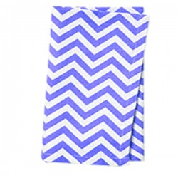 Napkins Chevron 17 X 17 Inch (6 Units) Red By Broward Linens