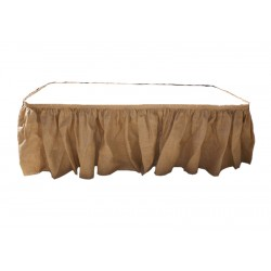 Tablecloth Burlap Natural Napkins 15 X15 Inch (10 Units) By Broward Linens