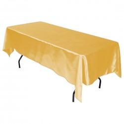 Tablecloth Satin Rectangular 60x120 Inch Burgundy By Broward Linens