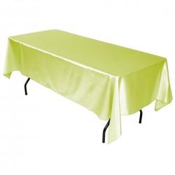 Tablecloth Satin Rectangular 60x120 Inch Lavender By Broward Linens