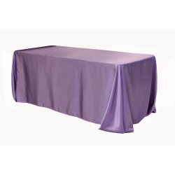 Tablecloth Satin Rectangular 90x156 Inch Kelly Green By Broward Linens
