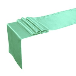 Runner Satin 12 X 108 Inch Kelly Green By Broward Linens