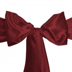 Sashes Satin 6 X 104 Inch (6 Units) Brown By Broward Linens