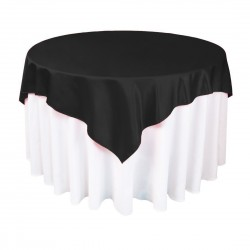 Sashes Satin 6 X 104 Inch (6 Units) Black By Broward Linens