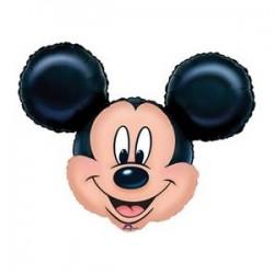 By Broward Balloons Disney Mickey Mouse Head Mini Shape Balloons (QTY 2)