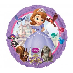 By Broward Balloons Sofia the First 18 Inch Balloon (Qty 2)