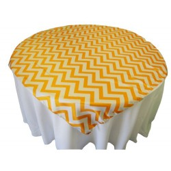 Overlay Chevron Square 58 Inch Turquoise By Broward Linens