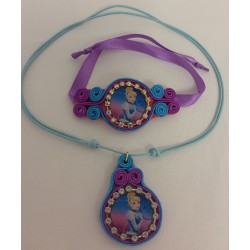By Broward Accessories Disney Cinderella Handmade Necklace Girls