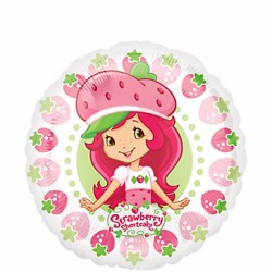 By Broward Balloons Strawberry Shortcake 18 Inch Balloons (Qty 2)
