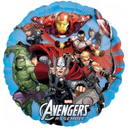 By Broward Balloons Marvel Avengers Assemble 18 Inch Balloons (Qty 2)