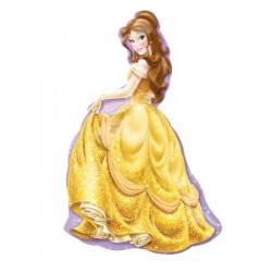 By Broward Balloons Disney Princess Beauty & The Beast Belle Super shape balloon 39 Inch