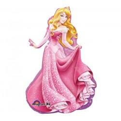By Broward Balloons Disney Princess Aurora Sleeping Beauty Super Shape 34 inch Balloon