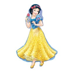 By Broward Balloons Disney Princess Snow White (New Design) Supershape 37 Inch Foil Balloon
