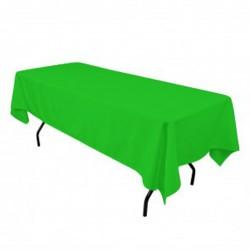 "Tablecloth Restaurant Line Rectangular 60x144"" Apple By Broward Linens"