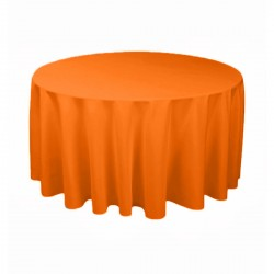 Tablecloth Round 90 Inch Burgundy By Broward Linens