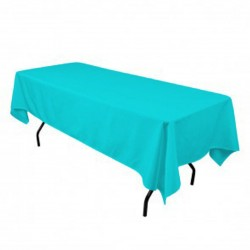 Tablecloth Polyester Rectangular Seamless (One Piece) 72x90 Inch Red By Broward Linens