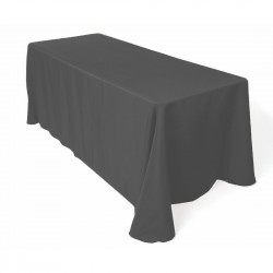 Tablecloth Polyester Rectangular Seamless (One Piece) 90x132 Inch Coral By Broward Linens