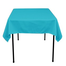 Tablecloth Polyester Square Seamless (One Piece) 72x72 Inch RoyalBlue By Broward Linens