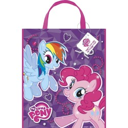 By Broward Toys Hasbro My Little Pony Reusable Party Tote Bag Party Favor Set (Qty 2)