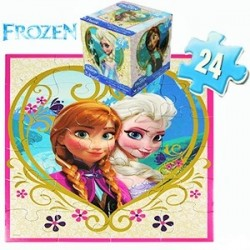 By Broward Toys Disney Frozen Elsa Puzzle (24 Pieces)
