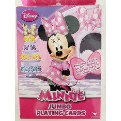 Broward Toys Minnie Mouse Jumbo Playing Cards & Reusable Party Tote Bag