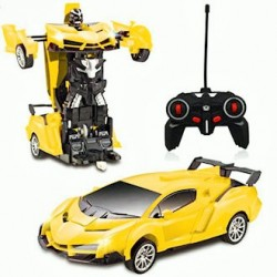 By Broward Toys Remote Control Deformation Robot Car
